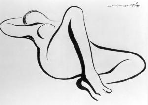 Mulher por Helio Feijó
