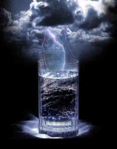 Tempestade em copo d'água.