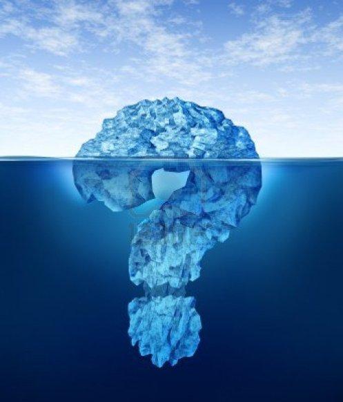 Iceberg de questão